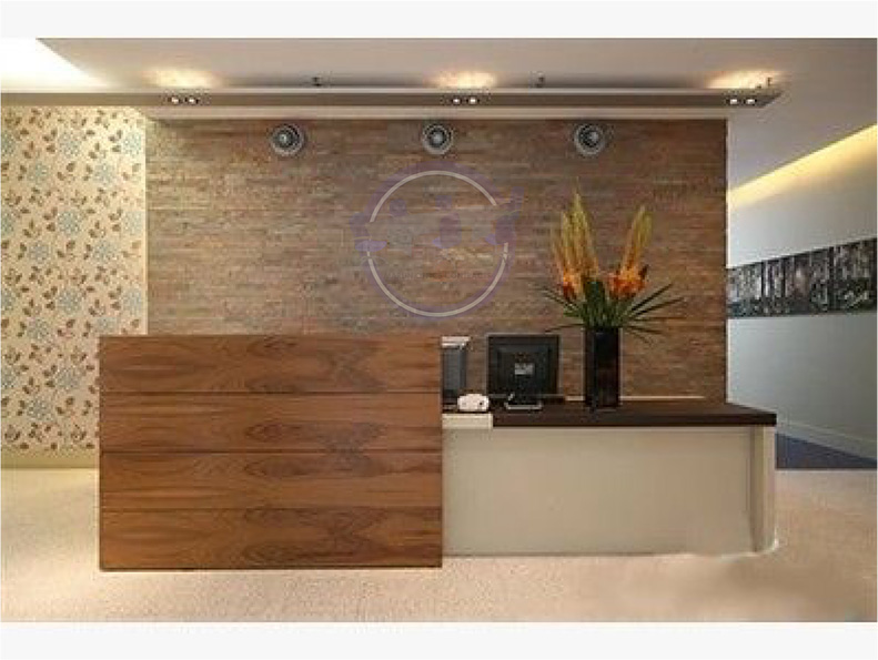 Reception & Waiting Area – Marlin Contracts